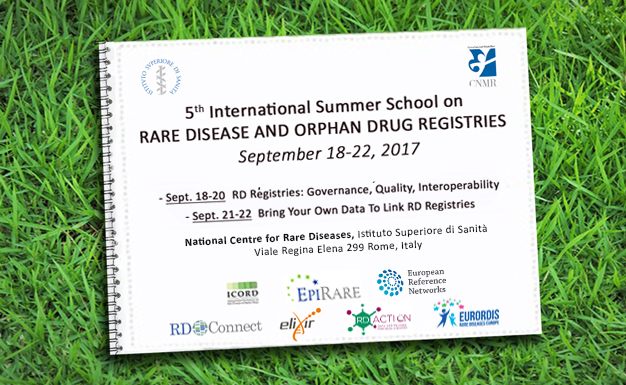 Report: 5th International Summer School on Rare Disease Registries