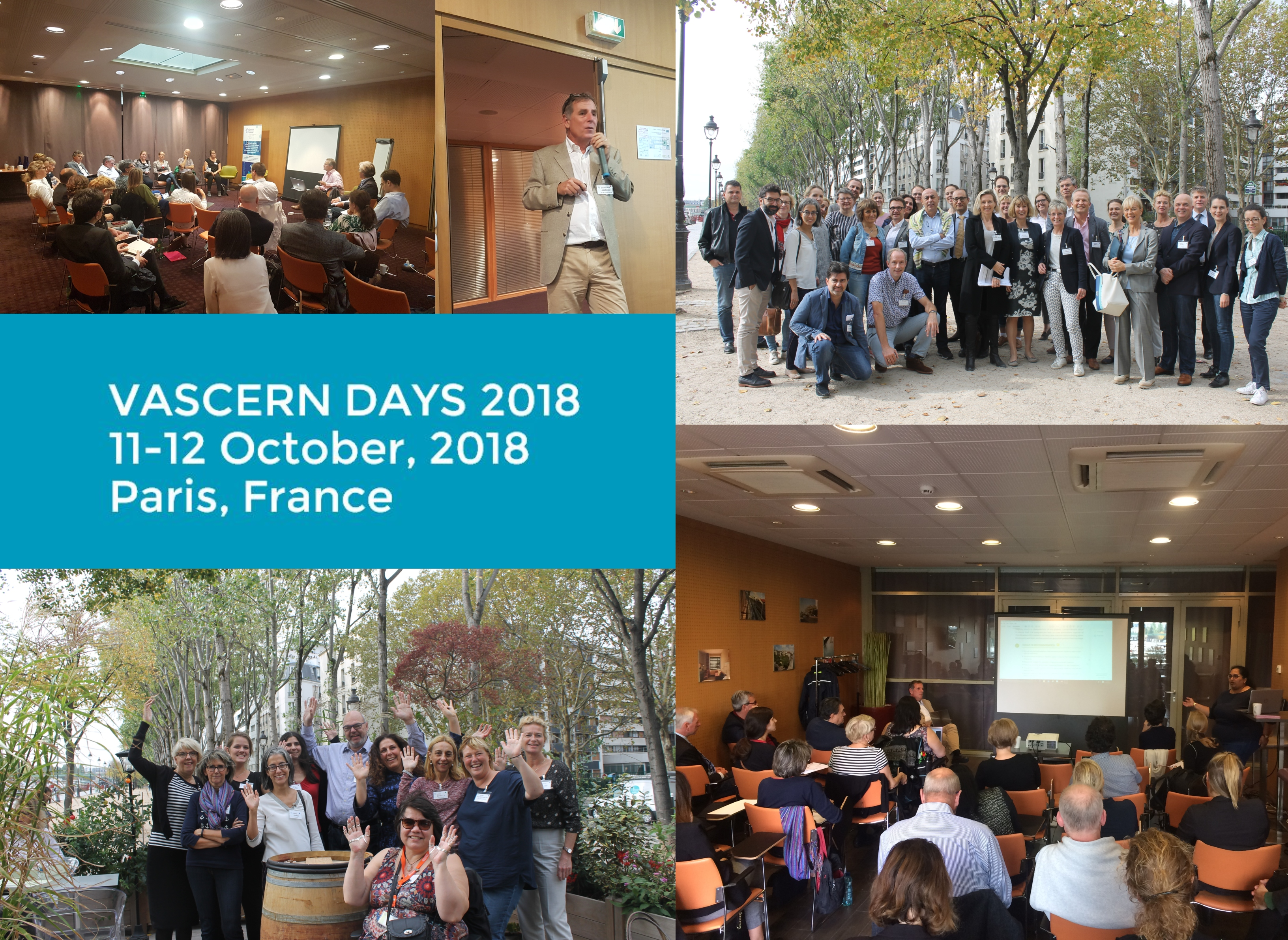 VASCERN Days 2018: Highlights from our 2nd Annual Seminar!