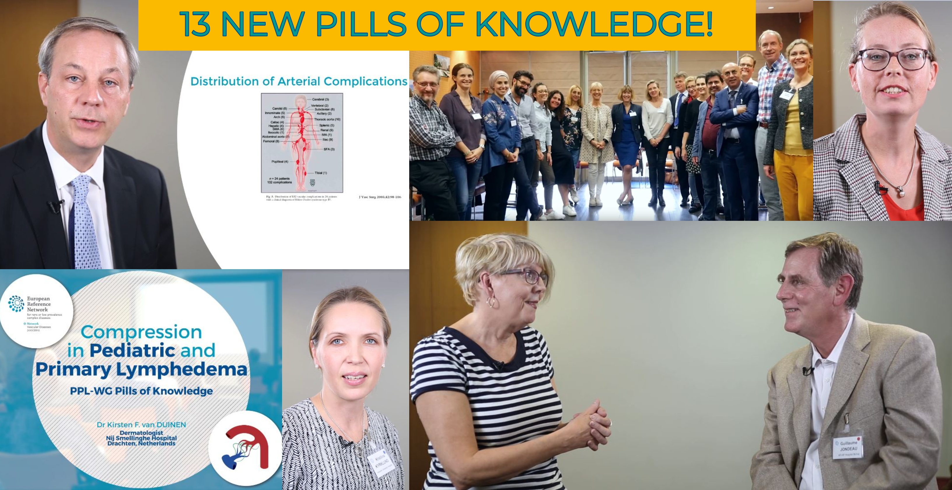 13 New VASCERN Pills of Knowledge Videos on YouTube!