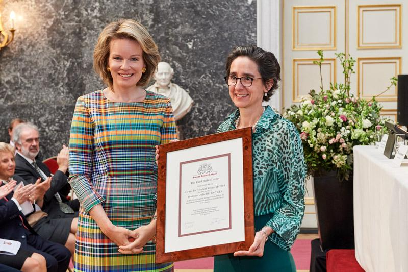 Two VASCERN HCP representatives awardees at the 2019 Baillet