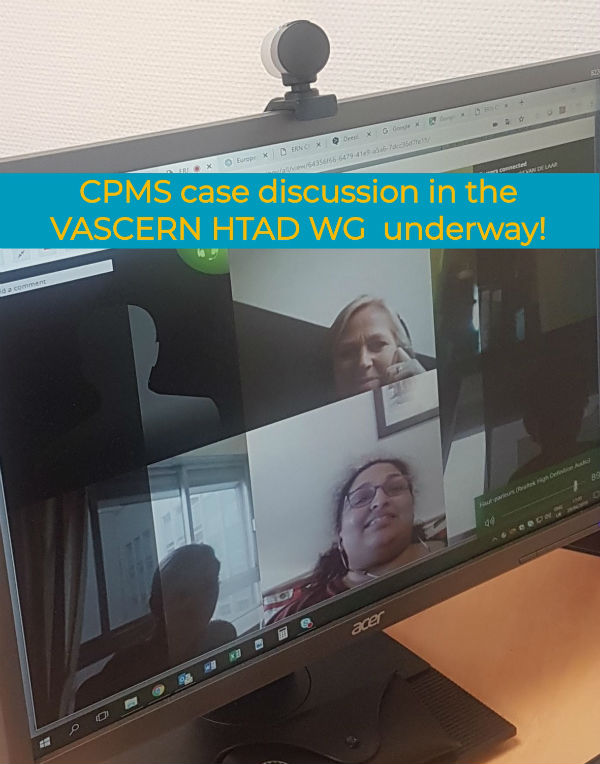 CPMS Update and HTAD WG case discussion
