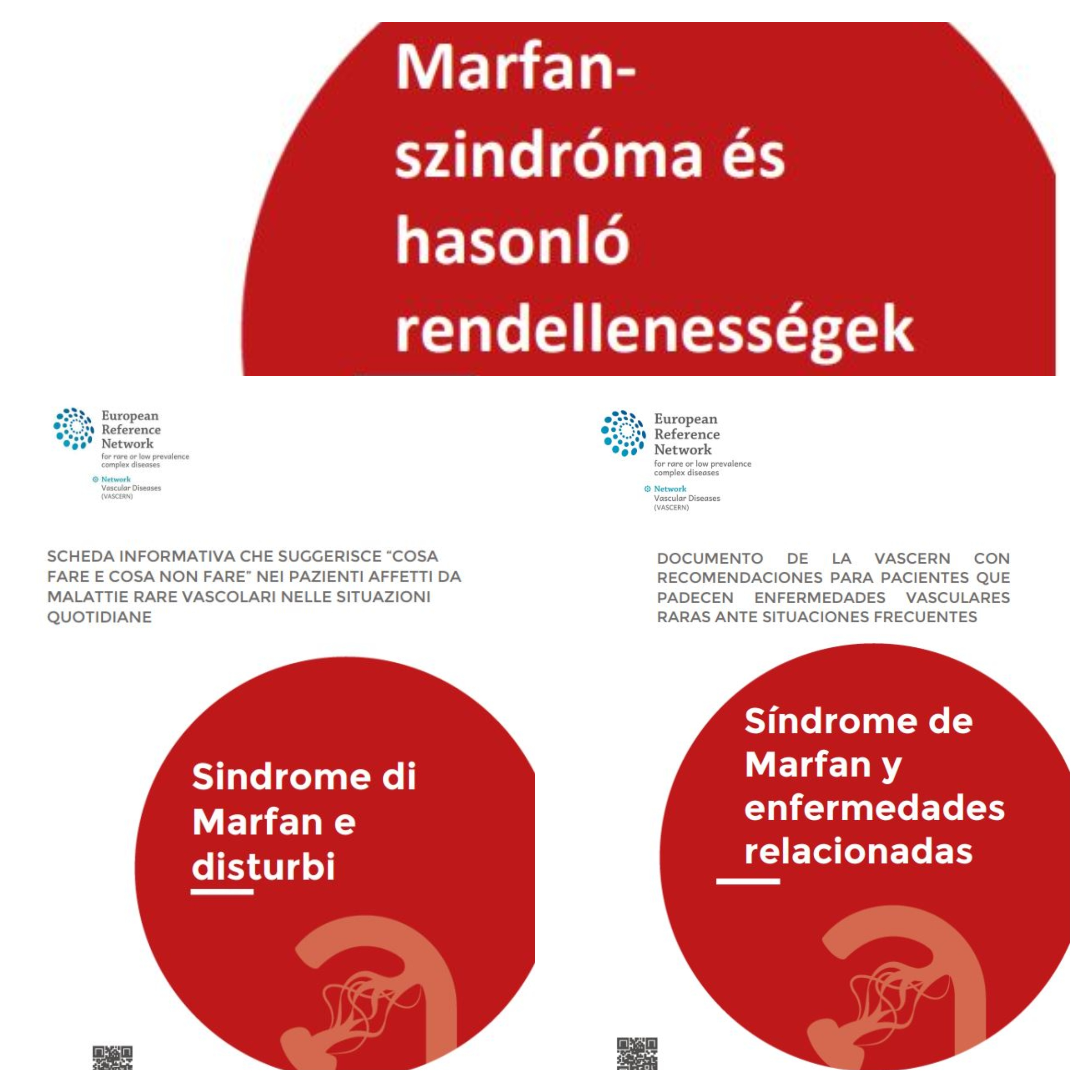 New translations of Do's and Don'ts Factsheets for Marfan Syndrome and Related Disorders (by the Heritable Thoracic Aortic Working Group – HTAD WG) now available!