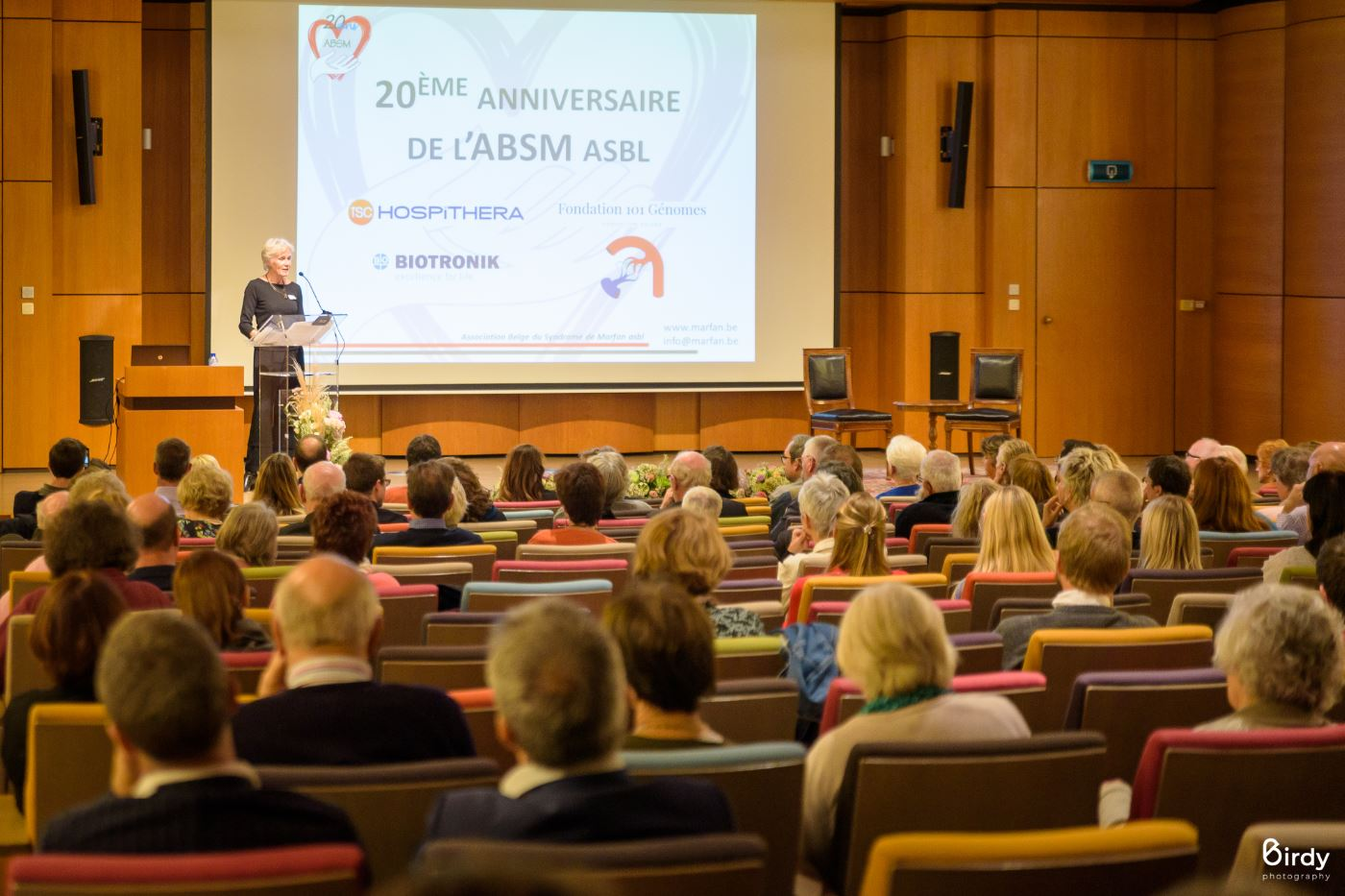 Happy 20 years to the Belgian Association of Marfan Syndrome (ABSM)!