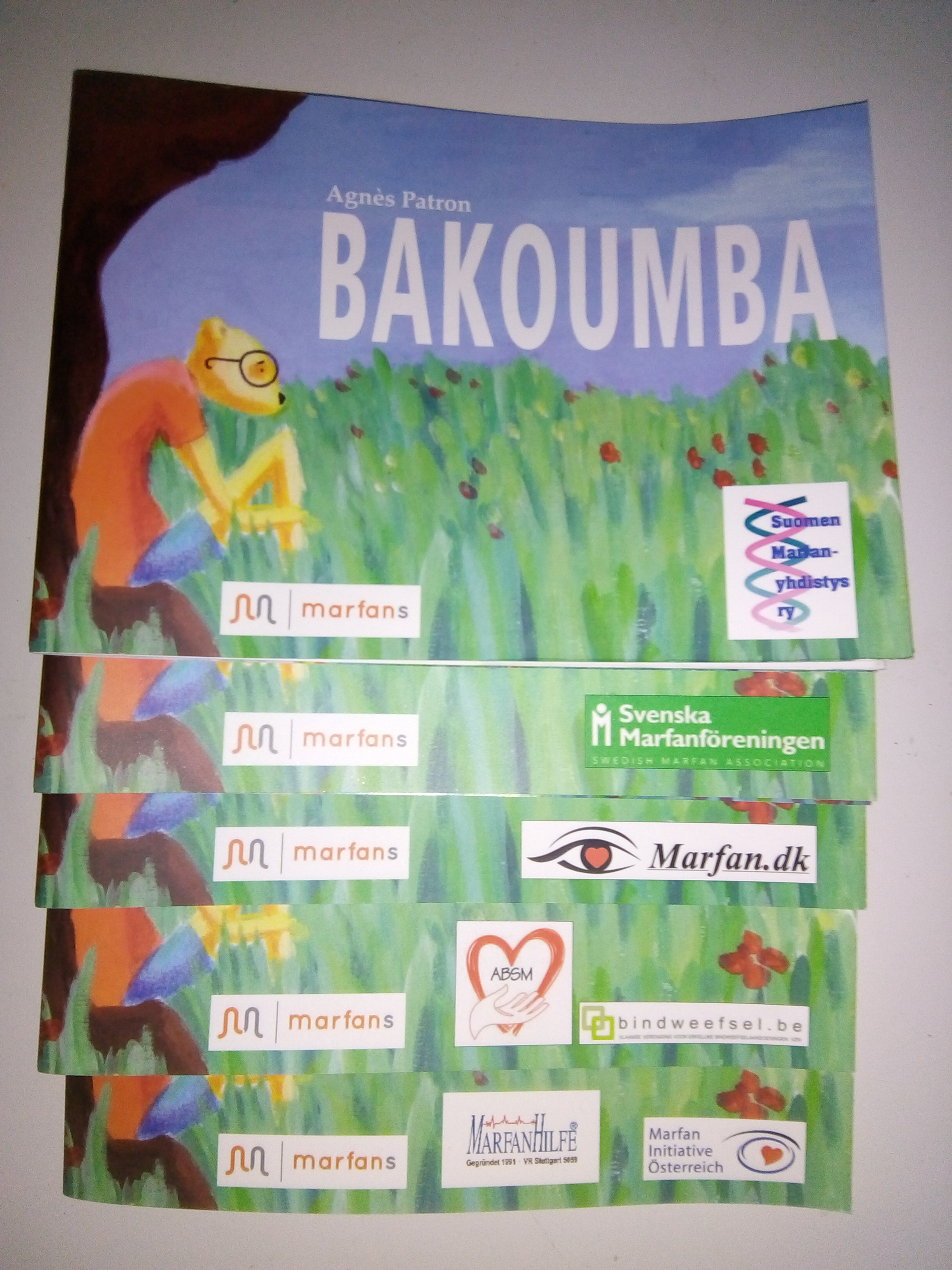 Update on Marfan Bakoumba book translations