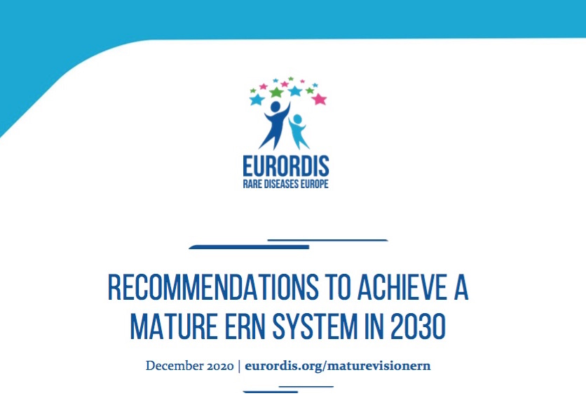 EURORDIS recommendations to achieve a mature ERN system in 2030